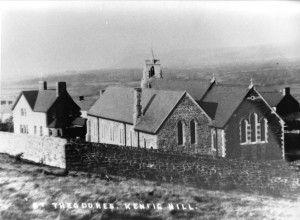 St Theodore's Church, looking towards Margam